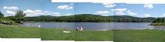 panoramic Wrightsville Reservoir
