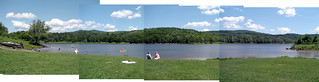 panoramic Wrightsville Reservoir | by found_drama