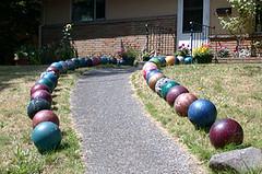 Bowling Bowl Walkway