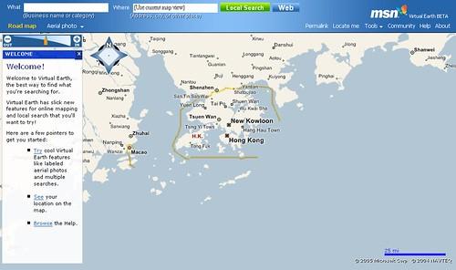 MSN Virtual Earth