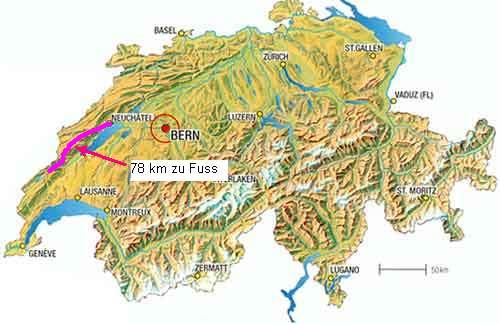 Jura Wanderung 2005