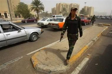 Iraqi gun babe I