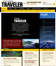 国家地理杂志旅行者主页