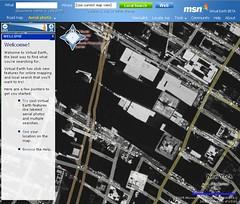 WTC in Lower Manhattan - msn Virtual Earth