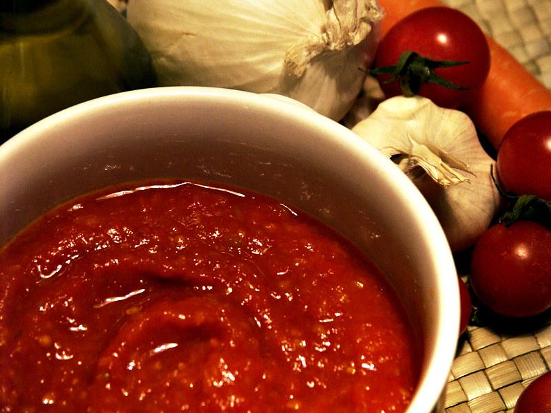 Salsa base di pomodoro