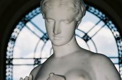 Beautiful statue of a woman