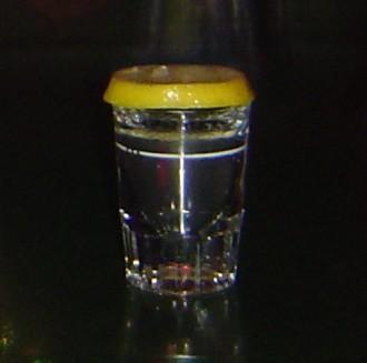 Flaming Lemon Drop