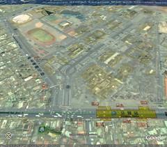 Taipei MRT map on Google Earth