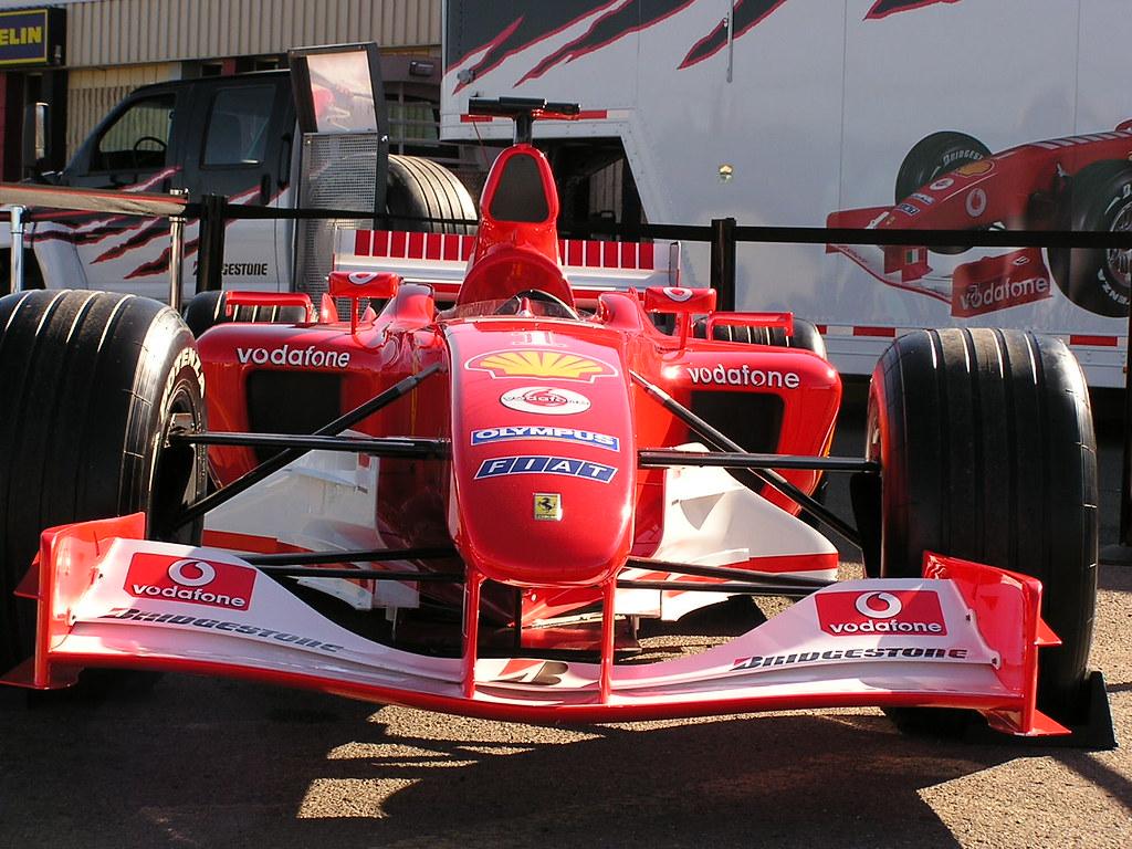 Ferrari Nose Shot Of The Nose Before All The Spectators Sh Flickr