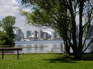 View of Toronto from Ward's Island   by **Mary**