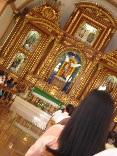San Miguel Church interior