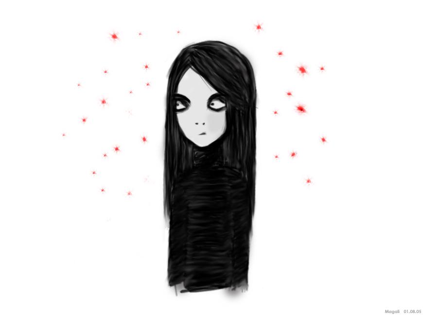 La femme en noire