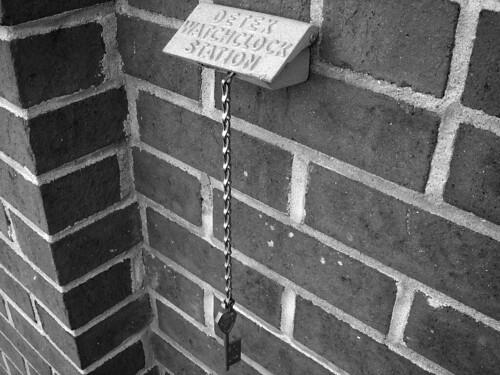 Detex Watchclock Station