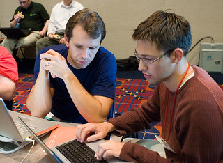 OSCon 2005: Rich and Nicolas | by duncandavidson