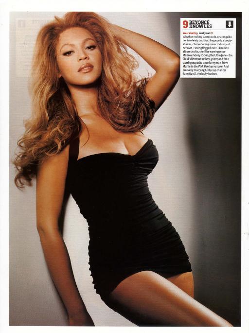 9-Beyonce