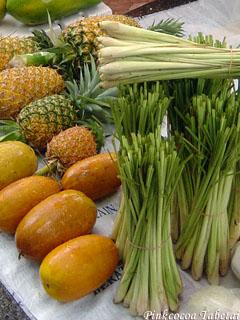 Brunei - Kianggeh Tamu - Lemongrass and Pineapple