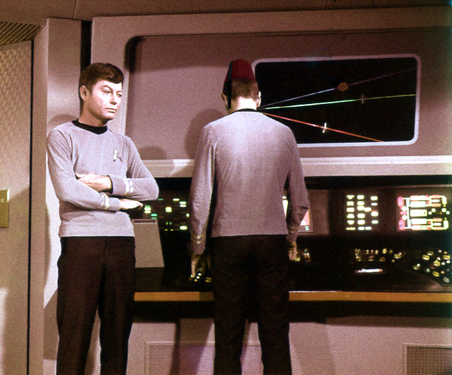 McCoy About to Begin Spock's