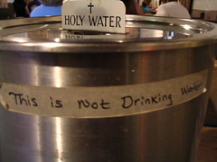 This is Not Drinking Water  (you heathen!)