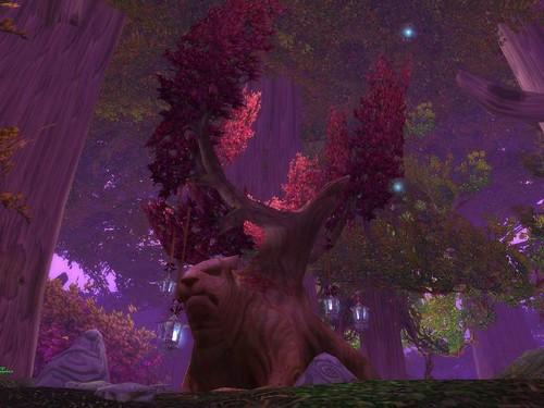 Bäume auf Teldrassil