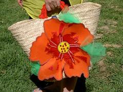 Alcofa flor grande