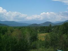 White Mountains vista