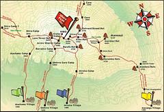 Kaart Kilimanjaro