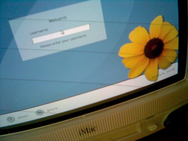 Gnome on Debian on iMac