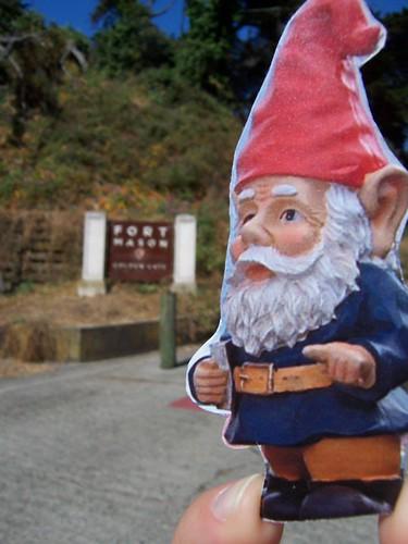 Gnome at Fort Mason