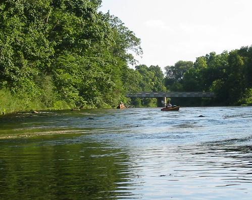 Shiawassee River near Henderson