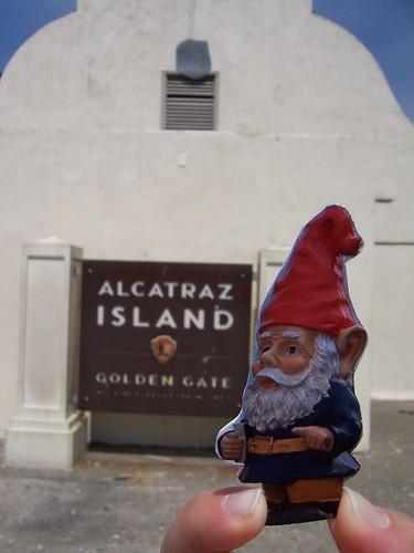 Gnome at Alcatraz