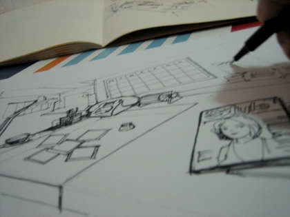 sketch for werk
