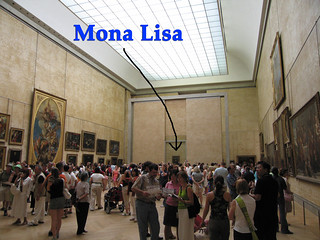 Mona Lisa at the Salle des Etats | by hjl