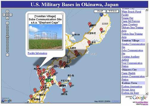 U.S. Military Bases in Okinawa, Japan