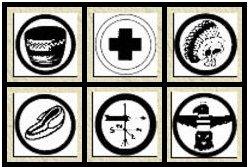 Merit Badges From Bear Lake