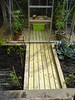 New decking for the greenhouse.
