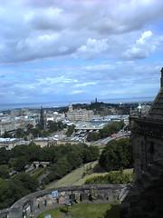 Edinburgh Castle parapet view