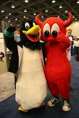 Tux & The BSD Daemon | by Scott Beale