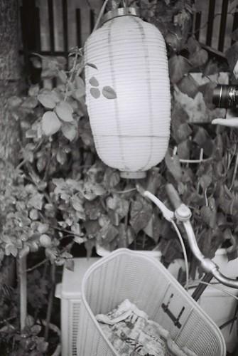 提灯と自転車
