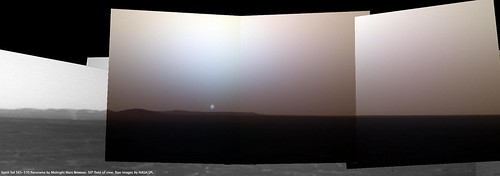 Spirit Sol 569 Sunset