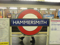 Hammersmith Tube (H&C) | by stevec77