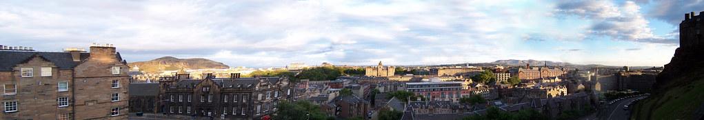 Edinburgh southeast panorama