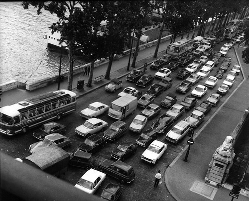 Paris traffic jam 1970 | by Osbornb