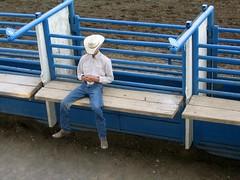 Resting cowboy