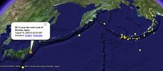 M7.2 Earthquake near Sendai, Japan - Aug16