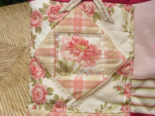 Bolso -detalle patchwork