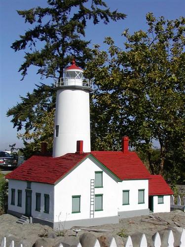 Sequim Lighthouse Model