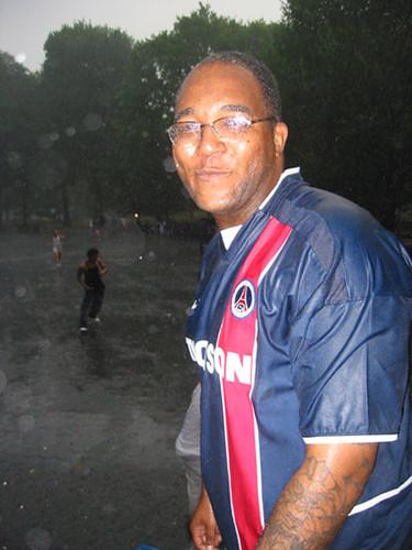 Me dancing in the rain