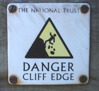 Danger Cliff Edge | by bartmaguire