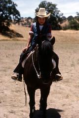 Joe on horseback