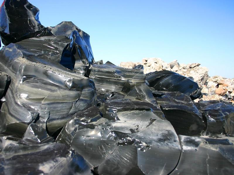 Obsidian Stratification